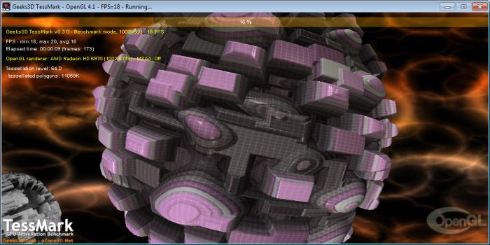 TessMark, OpenGL Tessellation Benchmark
