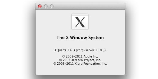 X Window System, Mac OS X