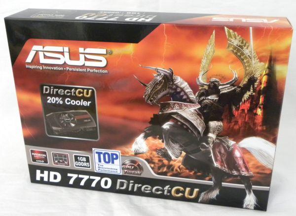 ASUS's Radeon HD 7770 DirectCU TOP