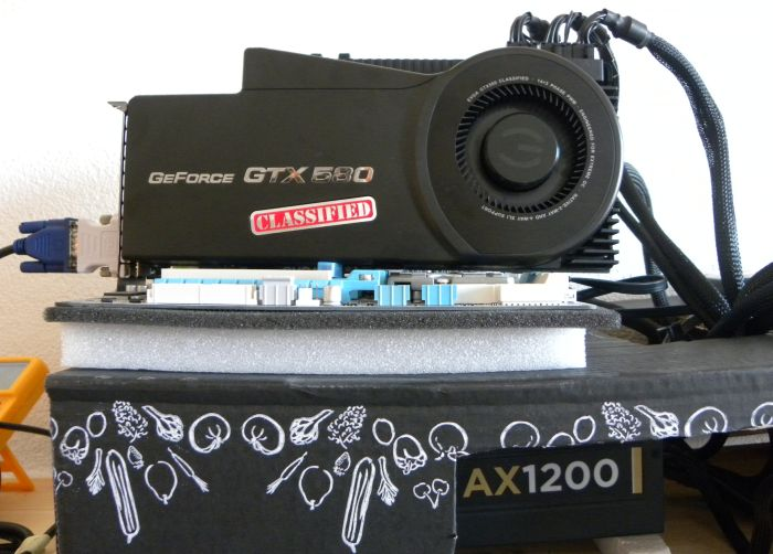 EVGA GTX 580 Classified, Geeks3D's testbed