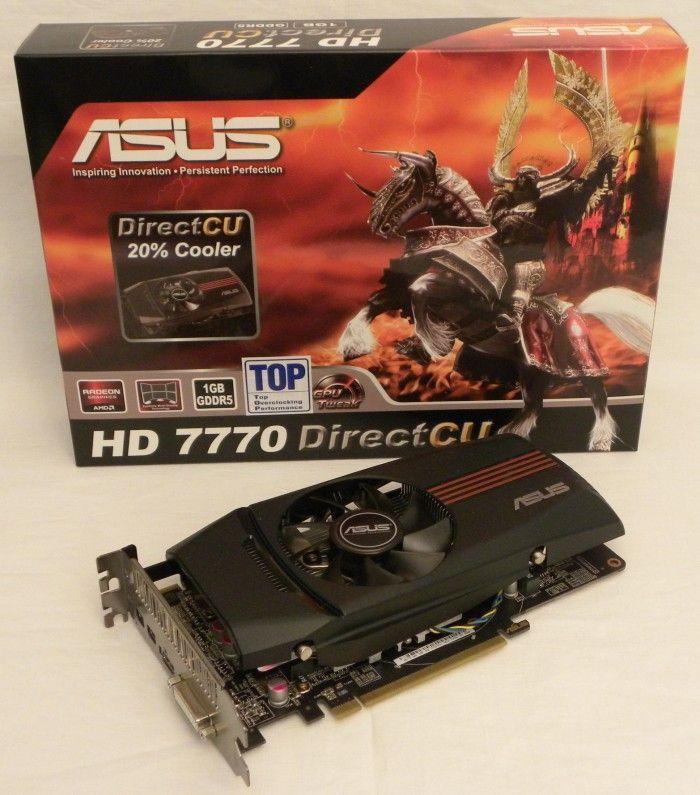 ASUS Radeon HD 7770 DirectCU TOP