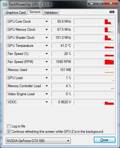 EVGA GTX 580 Classified ULtra, GPU-Z