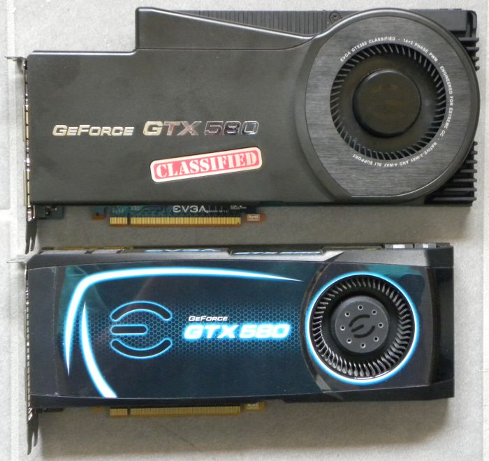 EVGA GTX 580 Classified ULtra