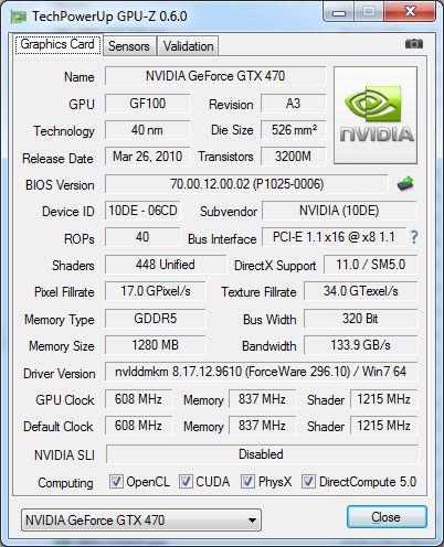 GPU-Z 0.6.0