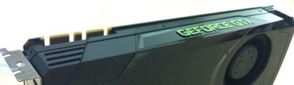 NVIDIA GeForce GTX board