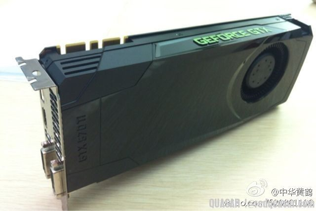 NVIDIA GeForce GTX 670 board