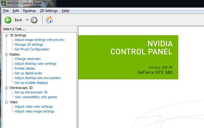 NVIDIA R300.99, GTX 580