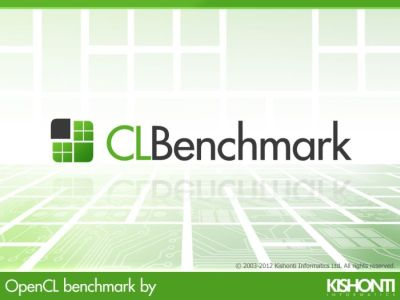 CLBenchmark - OpenCL benchmark