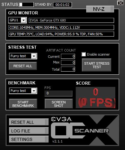 EVGA OC Scanner X 2 1 1 Released | Geeks3D