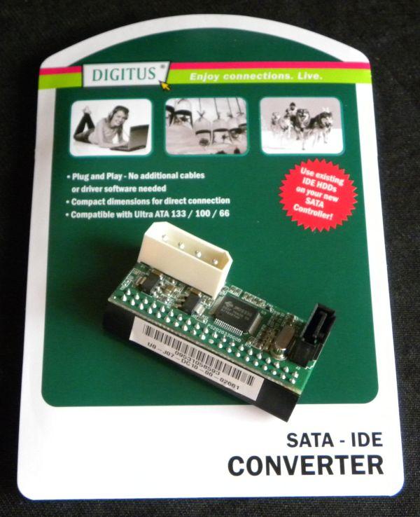 IDE to SATA converter - Digitus