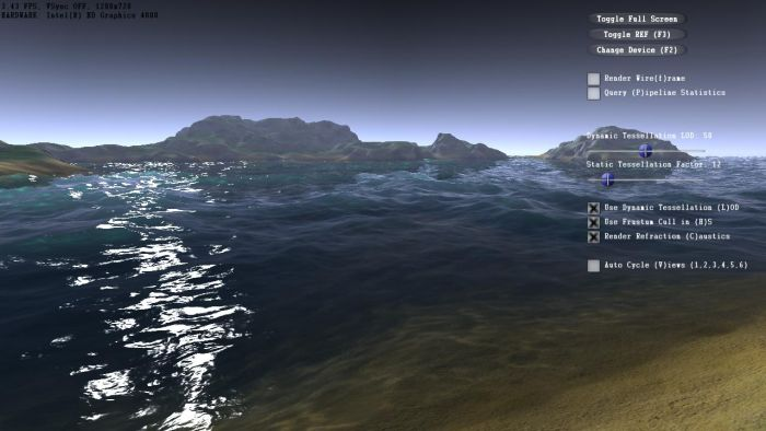 NVIDIA Island DX11 demo