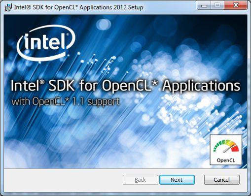 Intel OpenCL SDK