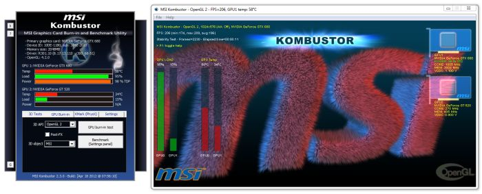 MSI Kombustor 2.3.0