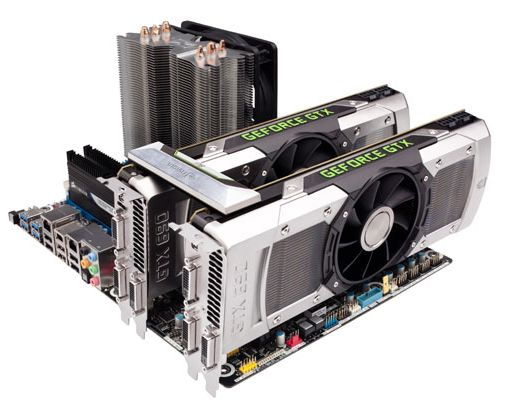 NVIDIA GeForce GTX 690 Quad SLI