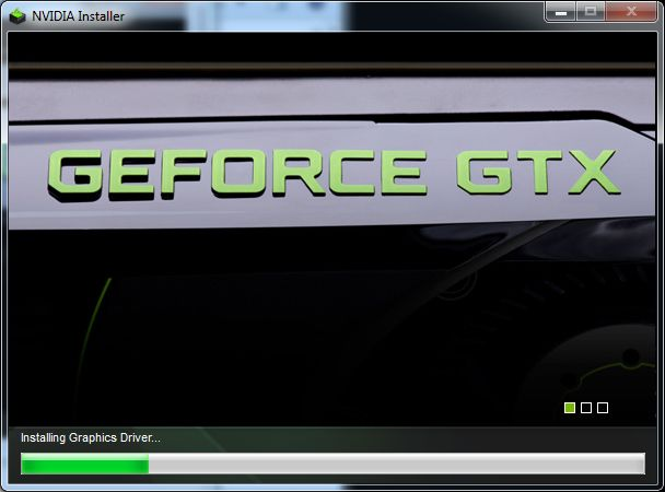 NVIDIA R300 graphics driver installation