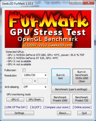 FurMark 1.10.1