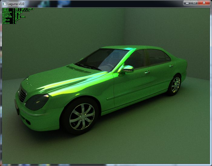 Laguna: Real-time OpenCL Pathtracer