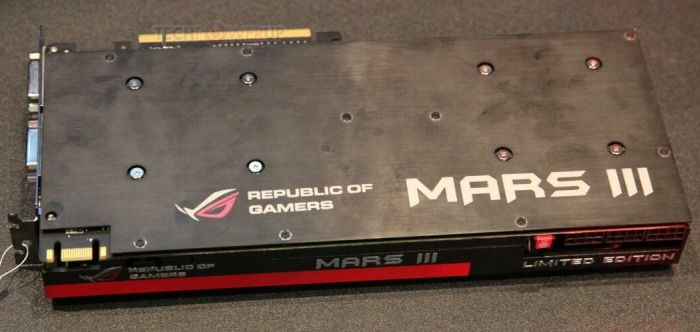 ASUS ROG Mars III Dual GTX 680