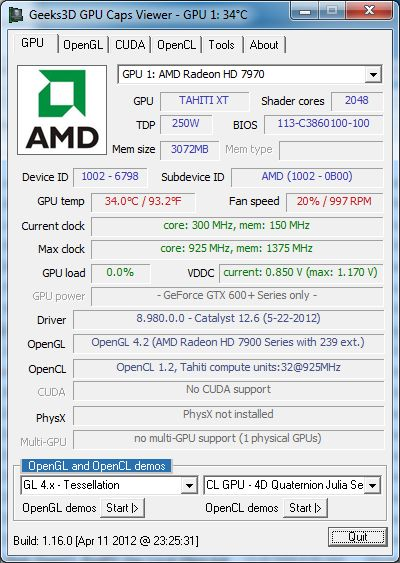 AMD Catalyst 12.6 Beta, GPU C