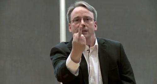 Linus Torvalds: So NVIDIA F*ck You!