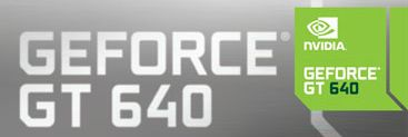 NVIDIA GeForce GT 640 logo