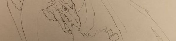 Geeky Sketch - Dragon