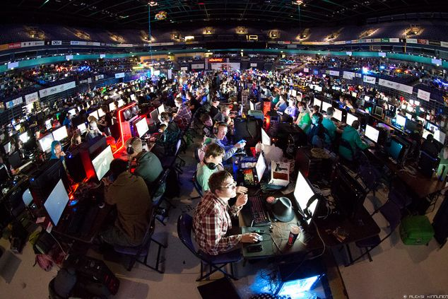 Demoscene - Assembly 2012