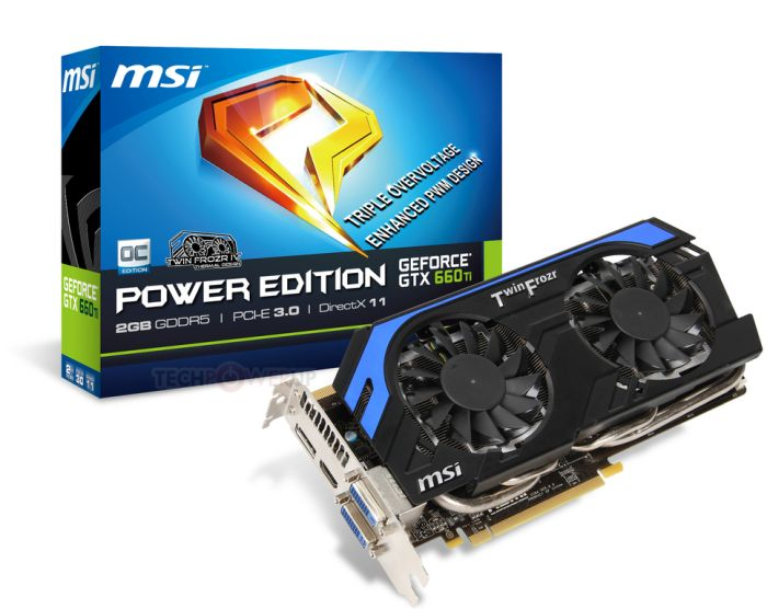 MSI GeForce GTX 660 Ti