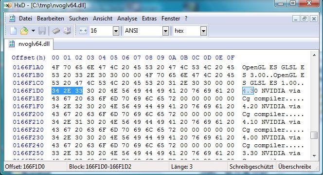 NVIDIA R305.67, inside NVOGLV64.DLL