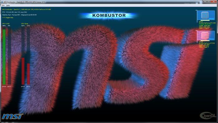 MSI Kombustor 2.4.2