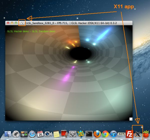 GLSL Hacker - Mac OS X / X11 demo