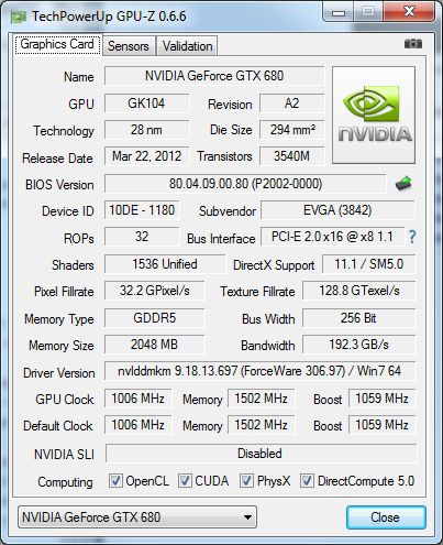 GPU-Z 0.6.6
