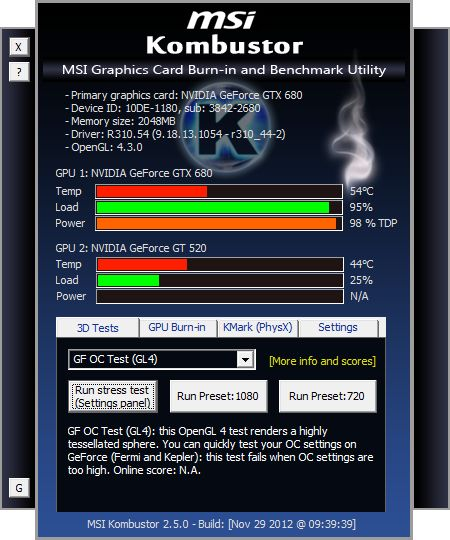 Stress Test Os X: MSI Kombustor 2.5.0 Released