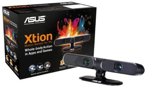 ASUS Xtion motion sensor