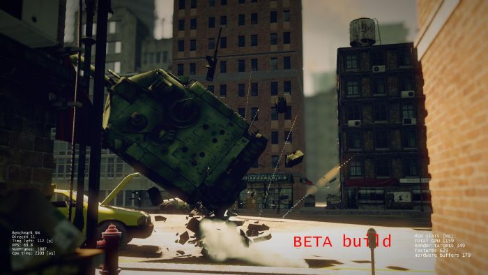 Catzilla: OpenGL and Direct3D PC Benchmark