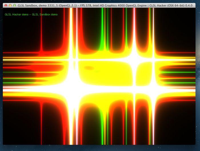 GLSL Hacker, GLSL Sandbox demo