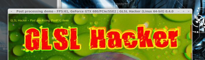 GLSL Hacker, Linux version