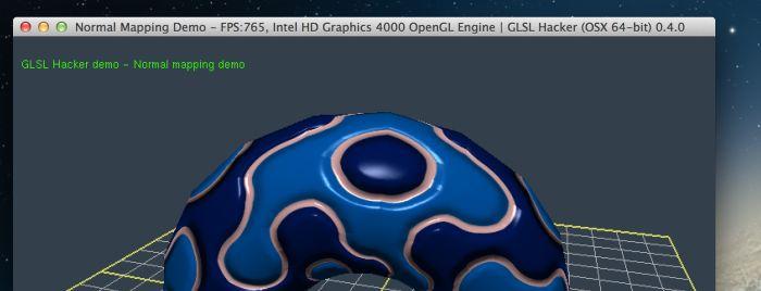 GLSL Hacker, OSX demo
