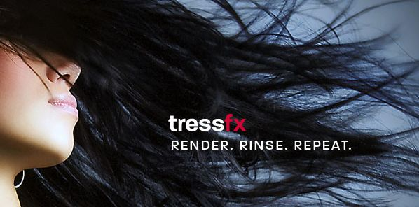 AMD TressFX hair rendering