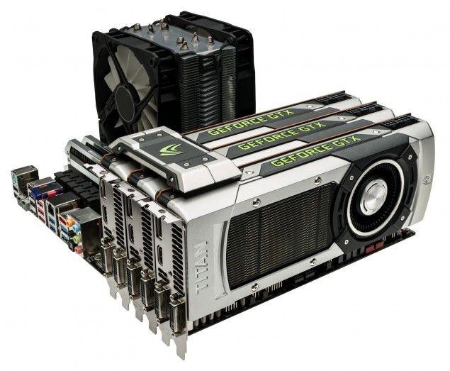 NVIDIA GeForce GTX Titan, Tri-SLI