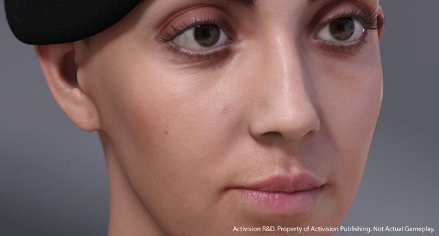 Activision - nextgen human face