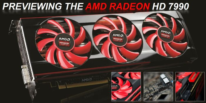 AMD Radeon HD 7990 board preview