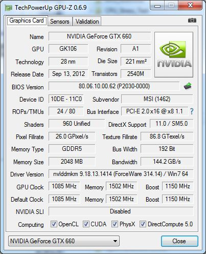 GPU-Z 0.6.9
