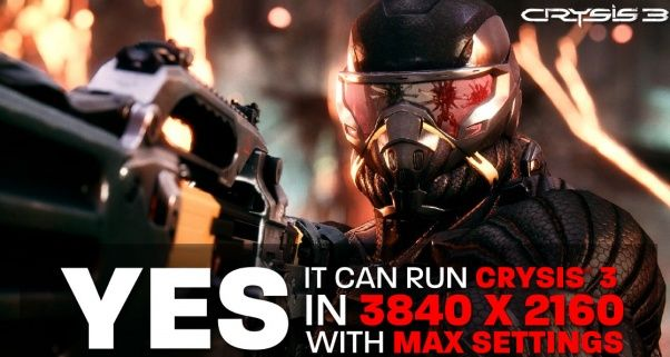 AMD Radeon HD 7990 dual-GPU videocard, Yes it can run Crysis