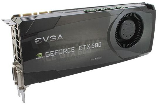EVGA GTX 680 Mac Edition