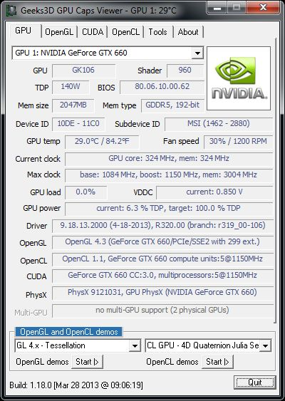 GpuTest 0.3.0: Cross Platform OpenGL Benchmark for Windows, OS X and Linux