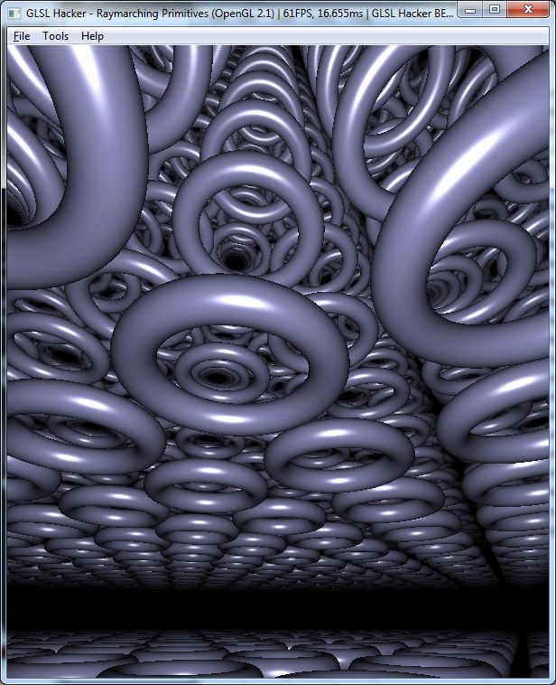 GLSL Shader library effect