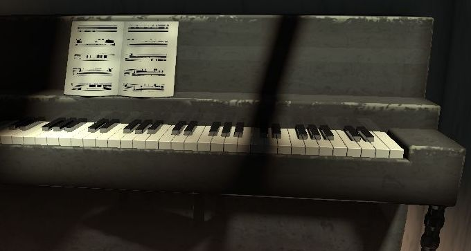 GpuTest 0.4.0: Piano demo with better rendering
