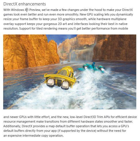 DirectX 11.2 enhancements