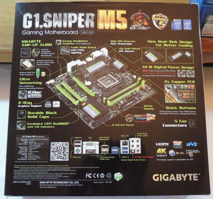 Gigabyte G1.Sniper M5 Z87 Motherboard Unboxing